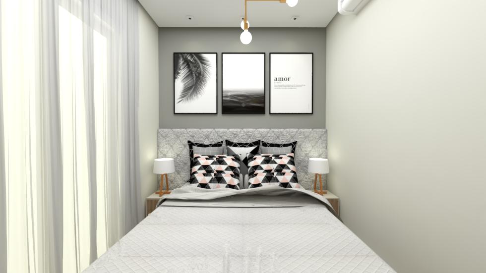 Dica de decoração: quarto de casal pequeno